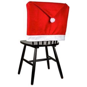 Christmas Santa Hat Chair Cover